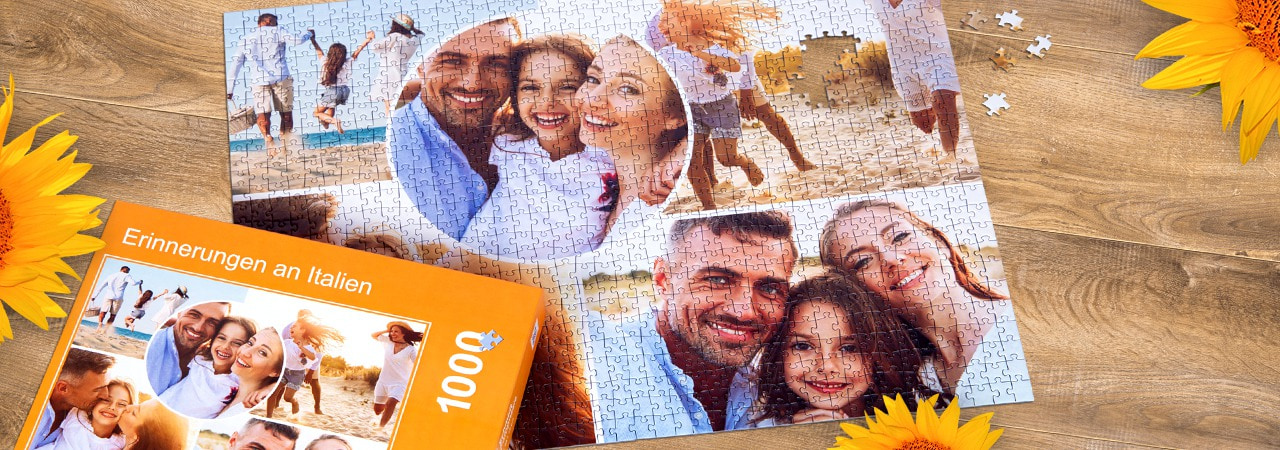 Entdecken Sie die Fotopuzzle-Collagen von Schmidt Spiele
