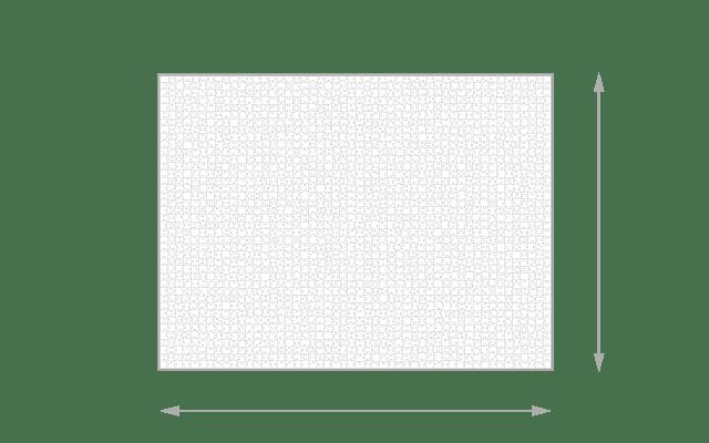 Gelegte Größe 2000 Teile Puzzle
