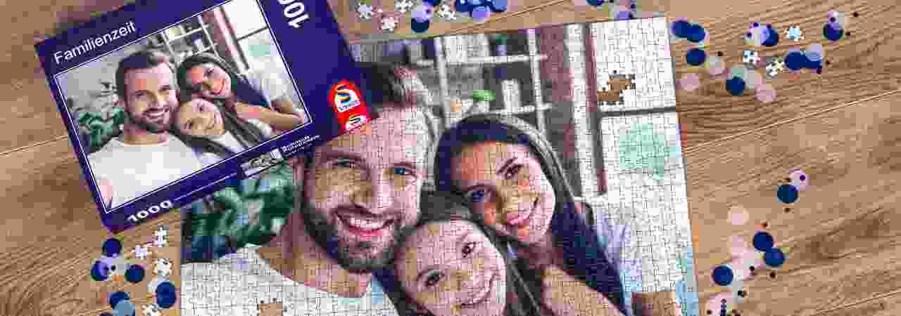 Personalisierte Fotopuzzles von Schmidt Spiele
