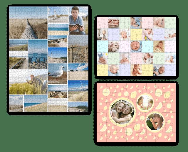 Warum sich eine Fotopuzzle-Collage lohnt
