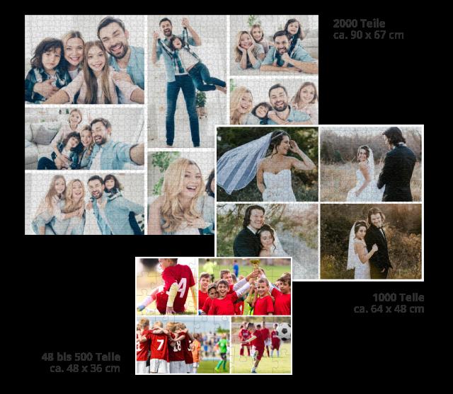 Kreative Gestaltungsideen für die Fotopuzzle-Collage