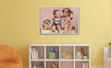 Jetzt nur noch eine geeignete Stelle in Ihren Vier Wänden finden und schon können Sie sich jederzeit am Anblick Ihres Schmidt Fotopuzzles erfreuen.