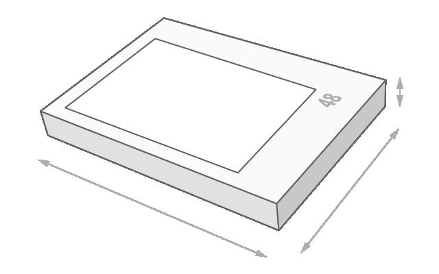 Schachtelgröße 48 Teile Puzzle